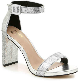 014beaed1f0b Silver Faux Suede Women s Sandals - ShopStyle