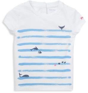 Ralph Lauren Childrenswear Baby Girl's Graphic Cotton Jersey Tee