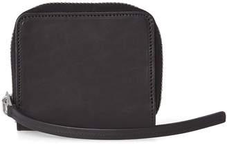 Rick Owens Leather Zip Wallet