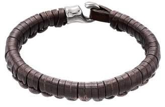 Uno de 50 Hook Plaited Leather Bracelet