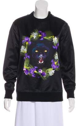Givenchy Satin Panther Sweatshirt