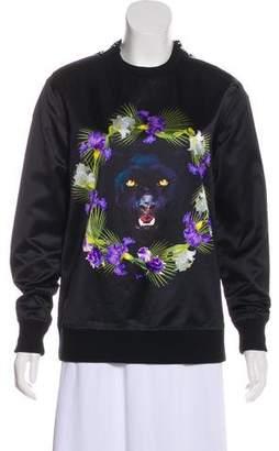 Givenchy Satin Panther Sweatshirt