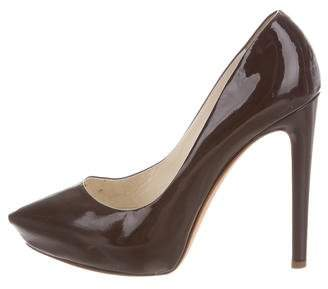 Rupert Sanderson Patent Leather Pointed-Toe Pumps