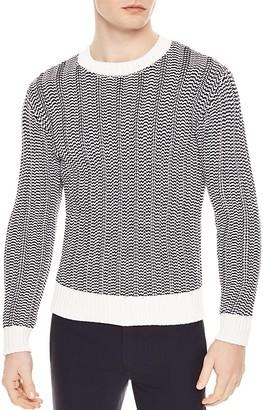Sandro Seashore Sweater $395 thestylecure.com