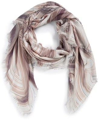 Women's Nordstrom Abstract Print Cashmere & Silk Scarf $99 thestylecure.com