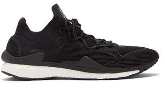 Y-3 Y 3 Adizero Runner Knit Trainers - Mens - Black