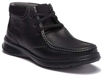 Clarks Cotrell Leather Chukka Boot