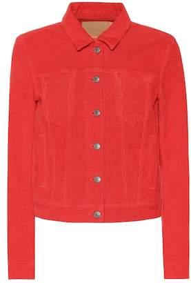 Acne Studios Blå Konst corduroy jacket
