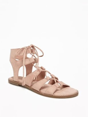 Lace-Up Gladiator Sandals for Women $29.94 thestylecure.com