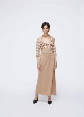 Jacquemus Peron Foldover Knit Skirt