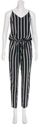 Mason Silk Striped Jumpsuit w/ Tags