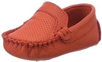 Elephantito Boys' Moccasin-K Crib Shoe