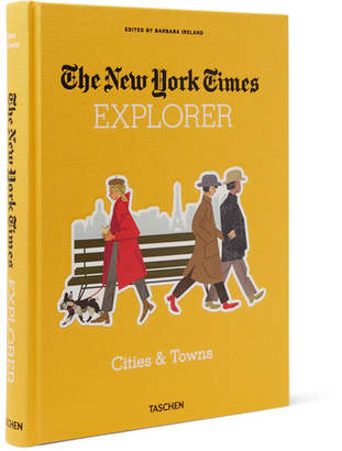 Taschen The New York Times Explorer: Cities & Towns Hardcover Book