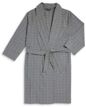 Polo Ralph Lauren Checkered Self-Tie Robe