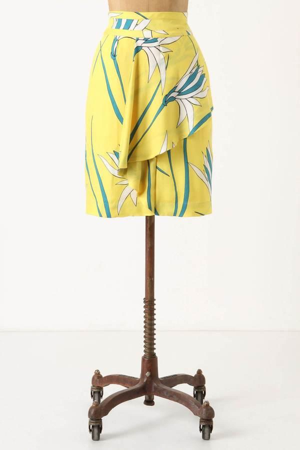 Dr. μ Bird Of Paradise Skirt
