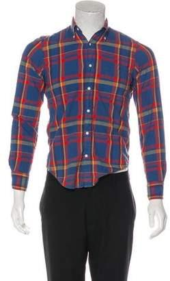 Gant Madras Flannel Shirt