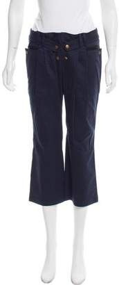 See by Chloe Cropped Mid-Rise Pants