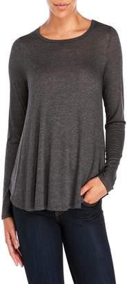 Bobeau Side Slit T-Shirt