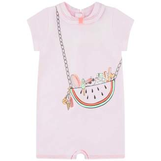 Little Marc Jacobs Little Marc JacobsBaby Girls Pink Bag Print Shortie