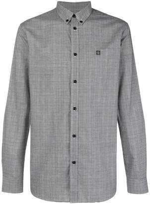 Givenchy Prince of Wales check buttondown shirt