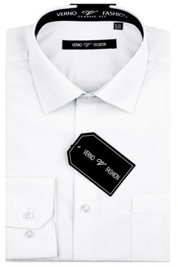 Verno Men's Classic Fashion Fit Dress Shirt