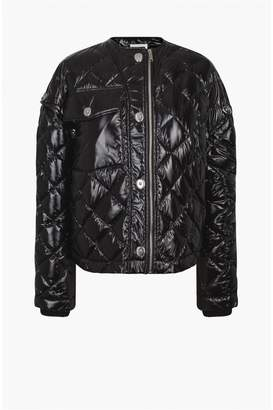 Sonia Rykiel Chintz Nylon Down Jacket