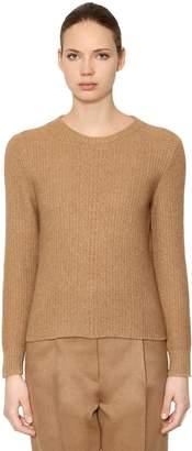 Max Mara Wool & Camel Blend Knit Sweater