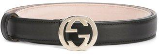 Gucci GG buckle belt $330 thestylecure.com