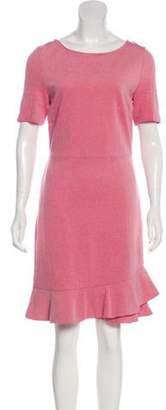 Diane von Furstenberg Knee-Length Peplum Dress Knee-Length Peplum Dress