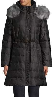 Kate Spade Faux Fur-Trimmed Jacket