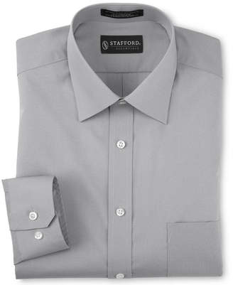 STAFFORD Stafford Travel Easy-Care Broadcloth Dress Shirt