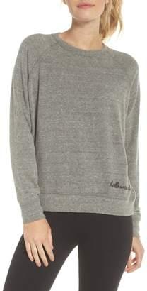 GOOD HYOUMAN Roselynn Hello, Weekend Sweatshirt