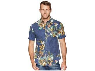 Reyn Spooner Pupus and Mai Tais Tailored Fit Aloha Shirt
