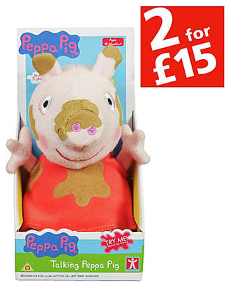 Peppa Pig Plush 7 inch Peppa