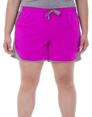 Fruit of the Loom Fit for Me by Women's Plus-Size Mesh Short