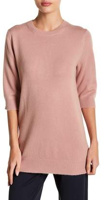 Vince Elbow Sleeve Cashmere Sweater