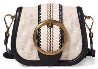 Polo Ralph Lauren Lennox Canvas Saddle Bag