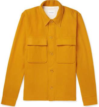 Norse Projects Kyle Wool-felt Jacket - Yellow