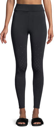 Cushnie et Ochs Annabelle Full-Length Perforated Performance Tights