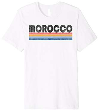 Vintage 1980s Style Morocco T Shirt