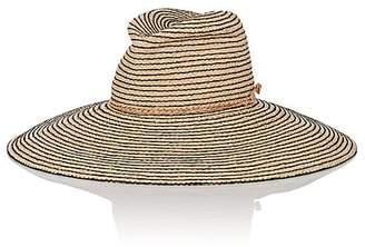 Lola Hats Women's Jolly Rancher Striped Raffia Sun Hat