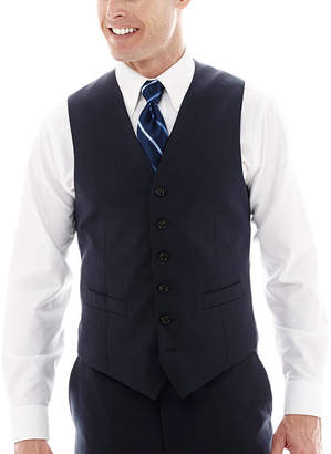 STAFFORD Stafford Super 100 Royal Navy Suit Vest