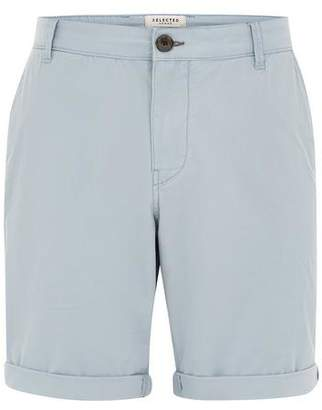 Topman Mens SELECTED HOMME Blue Shorts