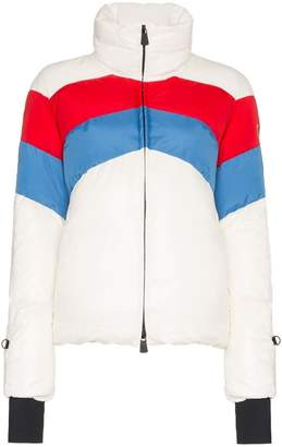 Moncler Lamar Striped Padded Jacket