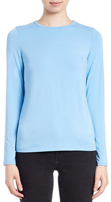 Lord & Taylor Iconic Fit Crewneck Sweater $40 thestylecure.com