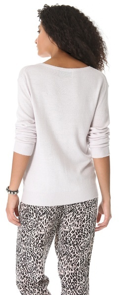 Wildfox Couture Sequin Make Out Sweater