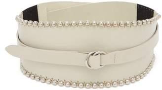 Isabel Marant Kytoo Leather Belt - Womens - White