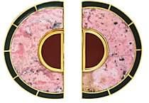 Monica Sordo Women's Brujo Half Orbit Earrings - Gold