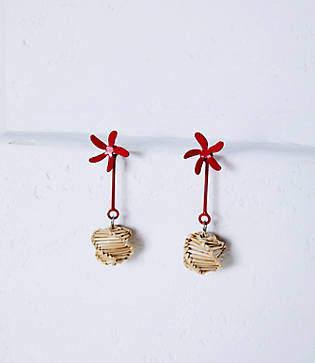 Lou & Grey Lokalwear Flower Drop Earrings