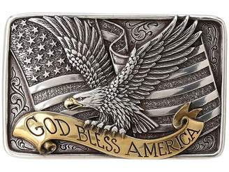 M&F Western God Bless America Buckle